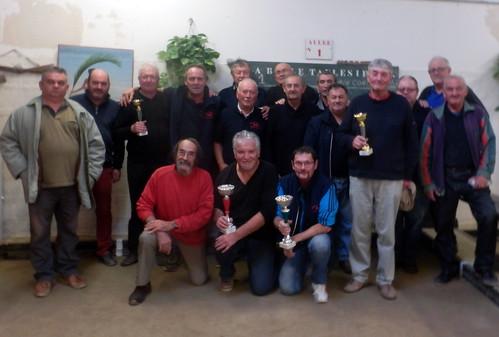 30/09/2017 - Taulé : Concours de boules plombées en doulettes formées