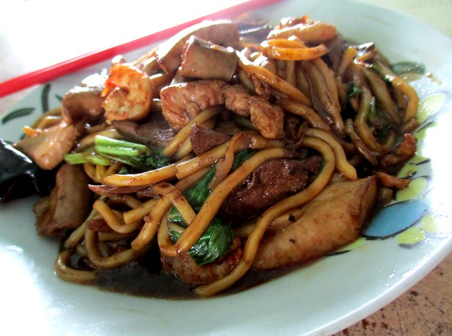 Wan-Cafe Foochow fried noodles special 1