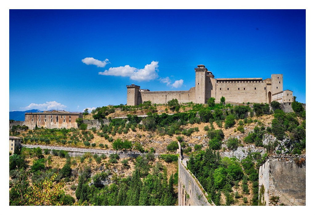 Ponte delle Torri Rocca Albornoziana (Spoleto) IV