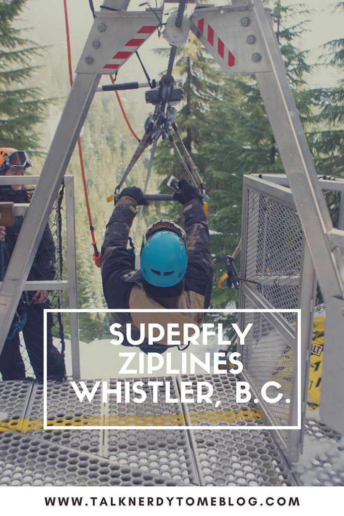 An adventure with Superfly Ziplines in Whistler, BC