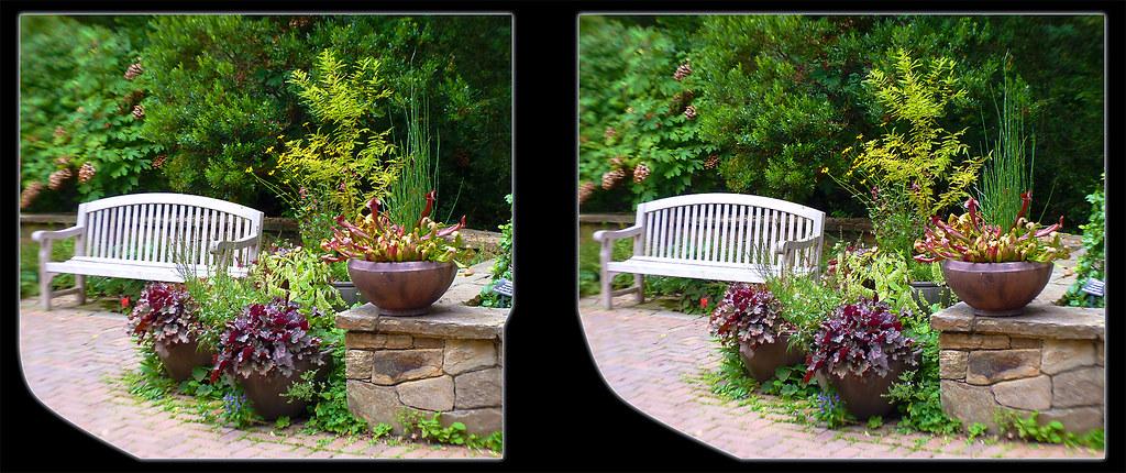 ... Longwood Gardens Walk 2   Crosseye 3D | By DarkOnus
