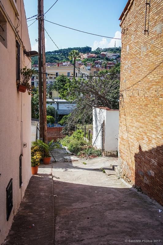 Pasaje entre las calles Granollers y Aiguafreda