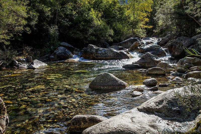 Río Sant Nicolau en la Ruta de la Nutria