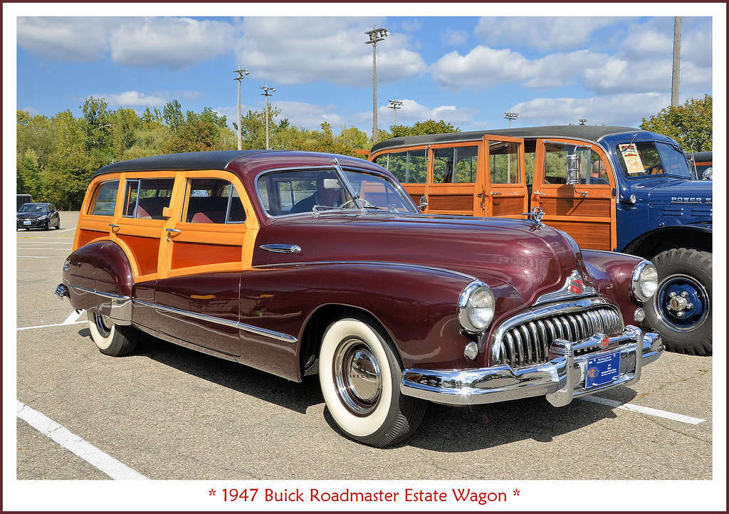 1947 buick roadmaster estate wagon the first ever. Black Bedroom Furniture Sets. Home Design Ideas