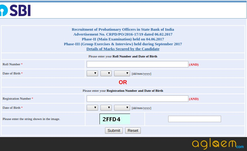 SBI PO Result 2017 (Final) Announced   Check here SBI PO 2017 Result