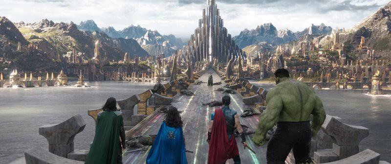 Thor Ragnarok Localizaciones de rodaje
