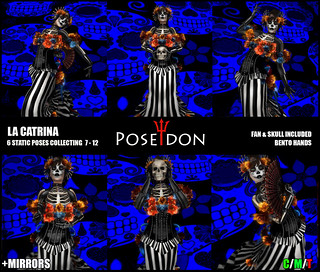 La Catrina Bento Pose @ The Dark Style Fair 5 | by Poseidon Poses / Midnight Vendetta Blog