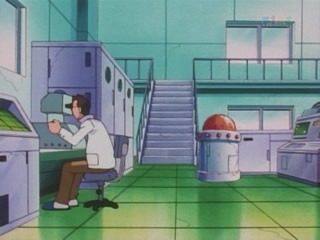 professor elm and lab