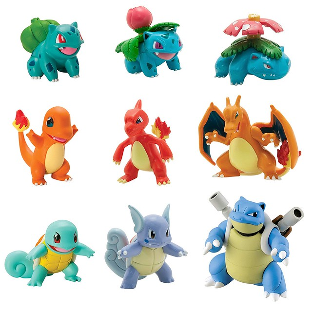 Pokemon Multi Evolution Figure Pack