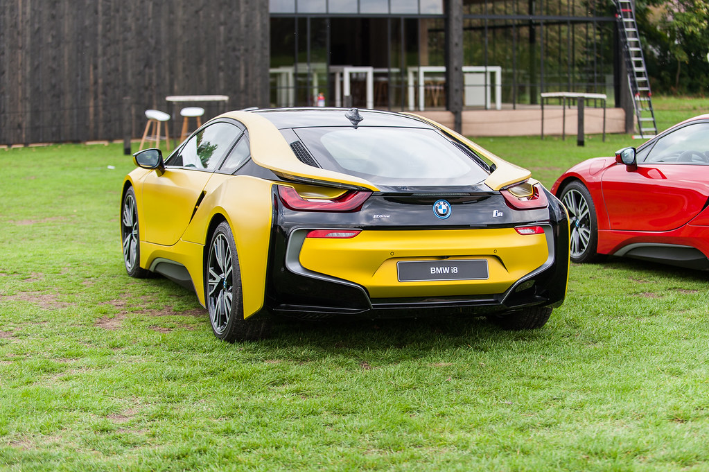 Bmw I8 Frozen Yellow Edition Engine 1 499 Cc 3 Cylinder Flickr