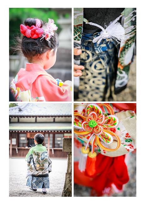 七五三写真前撮り 知立神社 愛知県知立市 ロケーション撮影 出張撮影 いとこ同士 男の子 女の子 着物 和装 人気 おすすめ