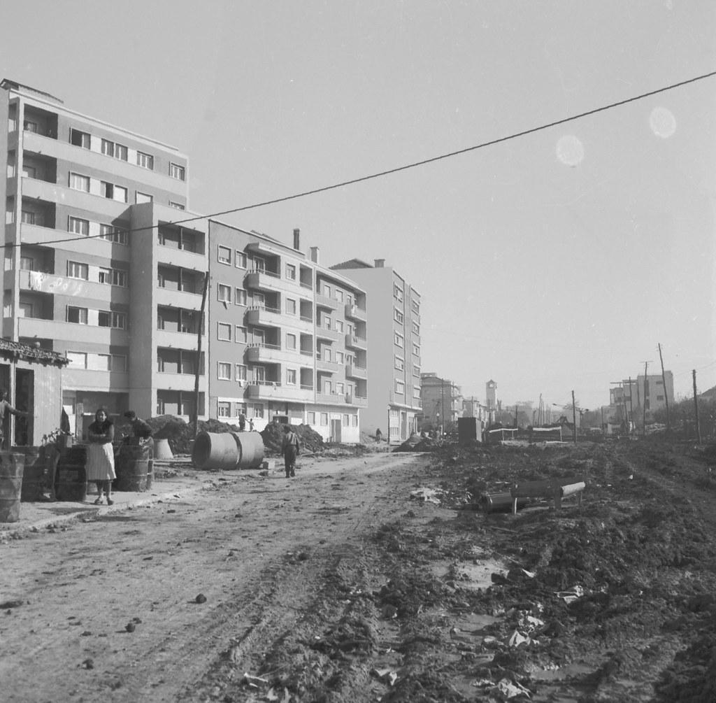 Rua Campolide, Lisboa (J.Benoliel, 195..)