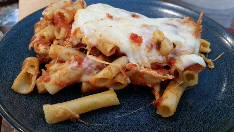 Cavey's Chicken Ziti