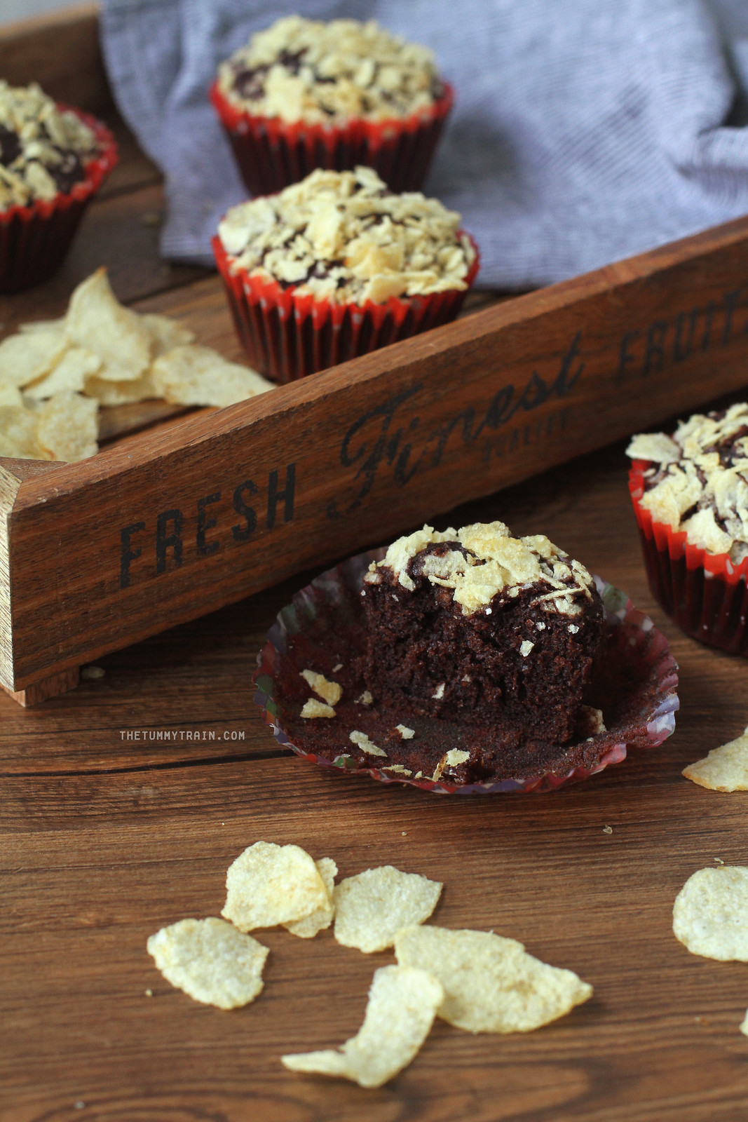 37724778756 7f20fca2c3 h - These Chocolate-Potato Chips Muffins are a unique play on sweet and salty