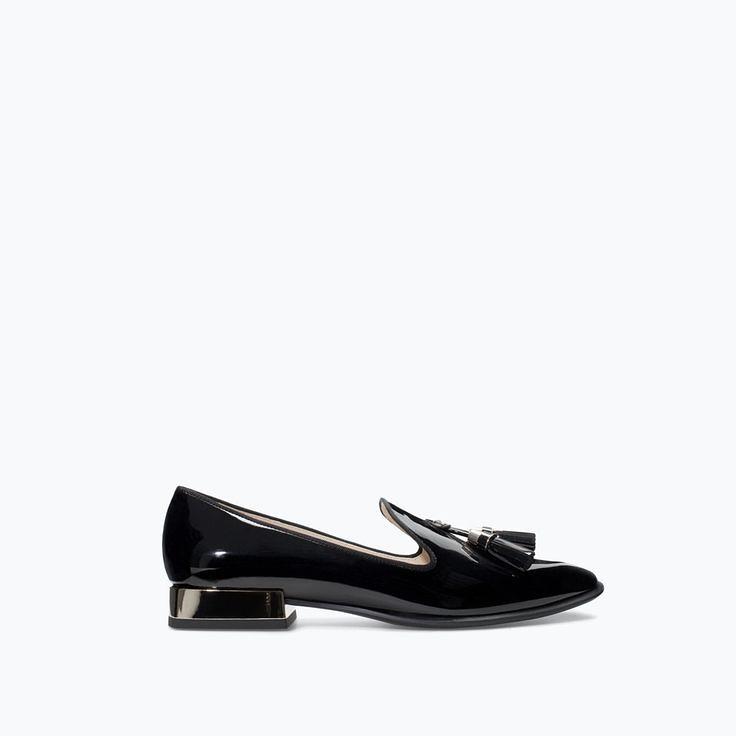 f5ba980ec504 Tendance Chaussures 2017  2018   PATENT SLIP-ON SHOES... -…