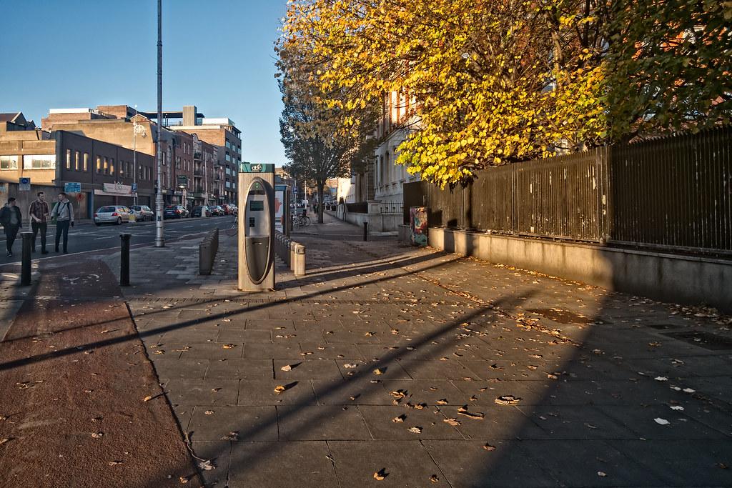 DUBLIN BIKE DOCKING STATION 03 ON BOLTON STREET 06
