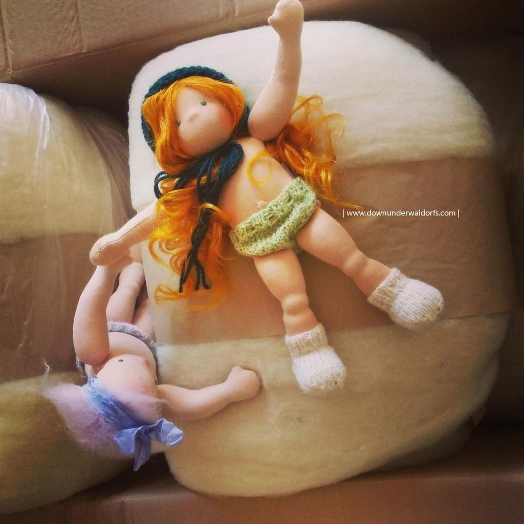 Portia - 9.5 inches Waldorf doll by Down Under Waldorfs
