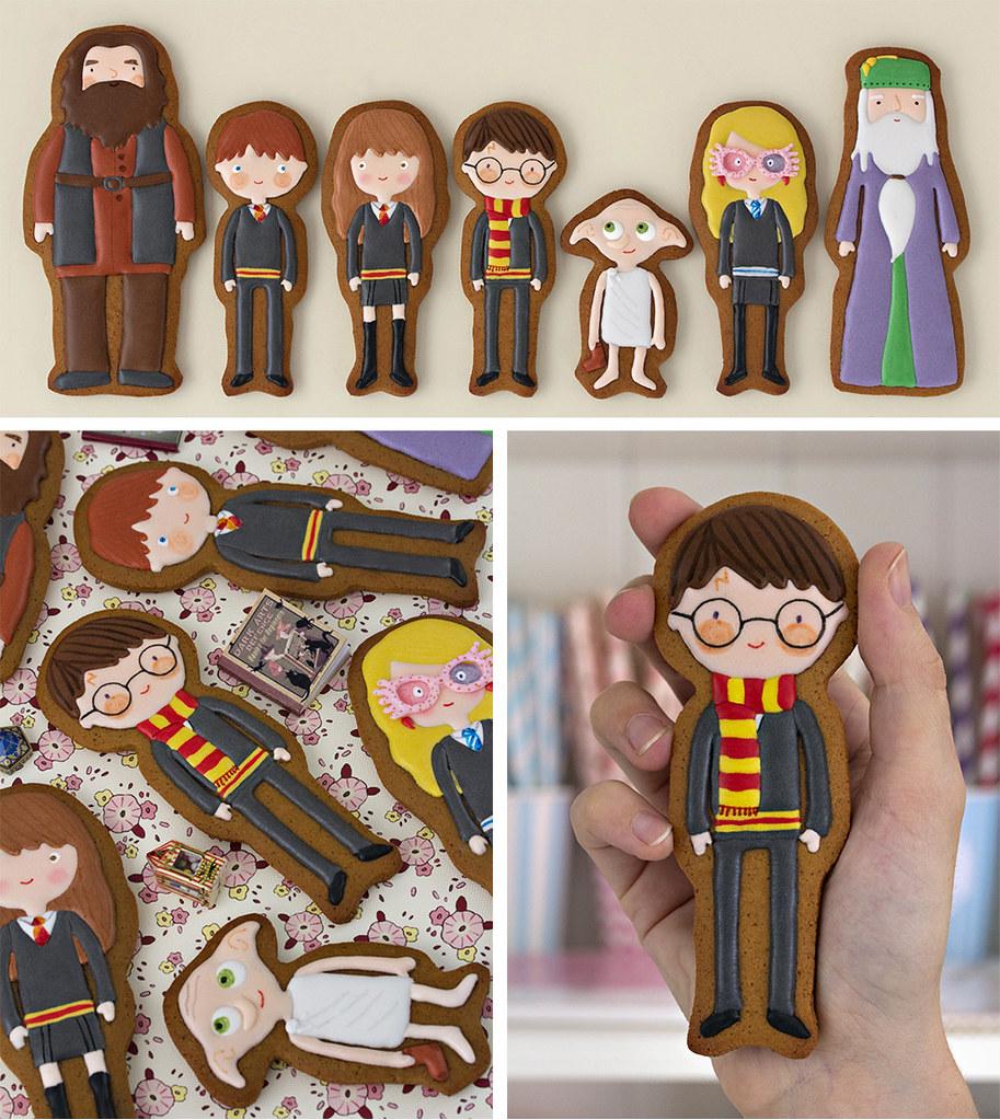 Harry Potter galletas decoradas