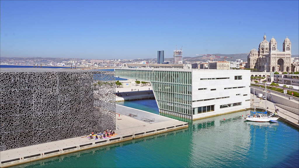 le mucem et la villa m diterran e marseille vue du mucem flickr. Black Bedroom Furniture Sets. Home Design Ideas