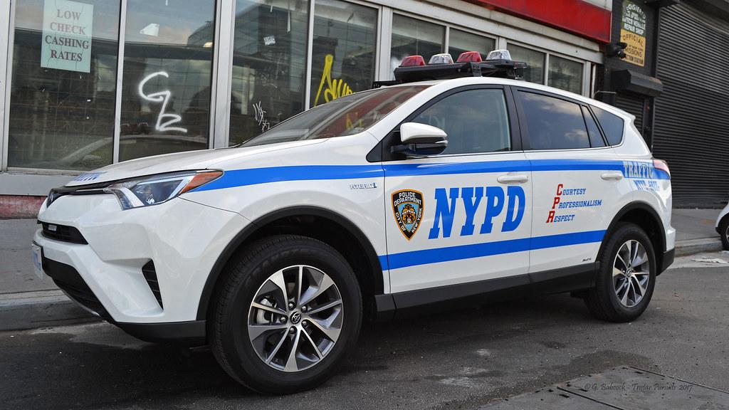 Nypd New York 2017 Toyota Rav 4 Hybrid Traffic Unit