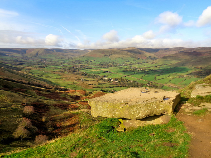 View over Edale from Back Tor