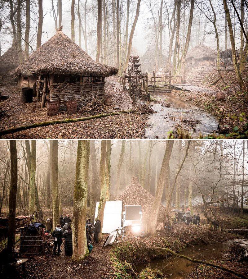 Britannia natáčení
