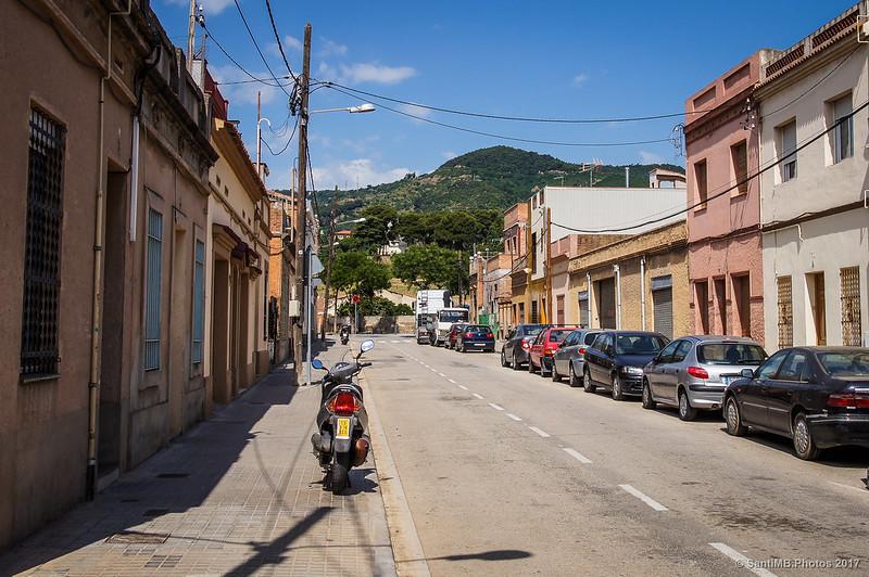 Avinguda del Marquè de Castellbell, en el barrio de Horta