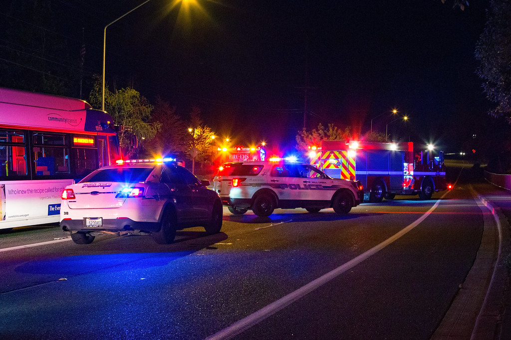 Night Time Collision Scene | Mill Creek PD and Snohomish Cou… | Flickr