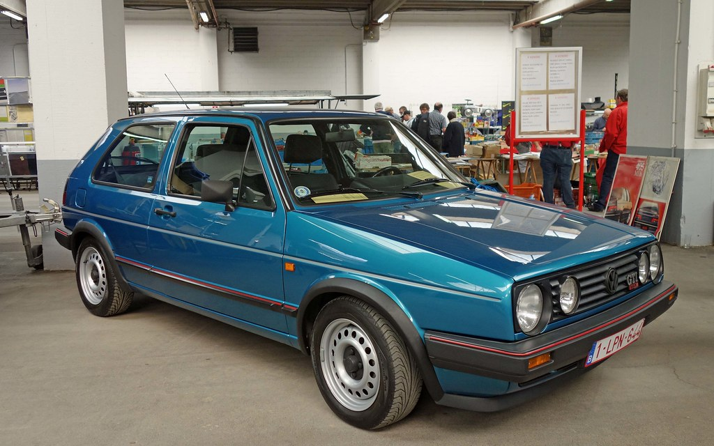 vw golf ii gti 16v typ 19e ph 1 1986 87 in monzabl. Black Bedroom Furniture Sets. Home Design Ideas