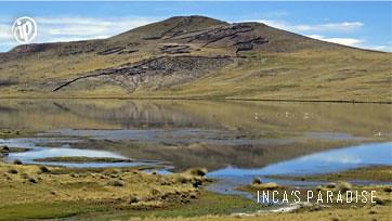 Paisajes en la ruta Puno Chivay