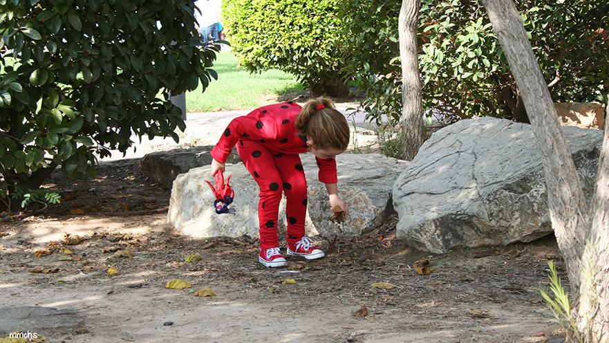 disfraz Ladybug niña y muñeca Ladybug