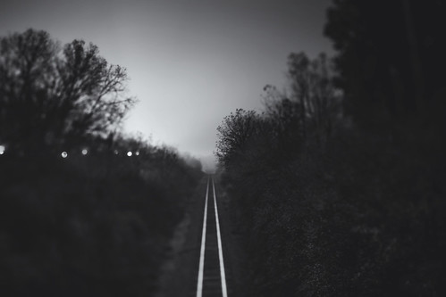 heading on down the tracks | by Dan Constien