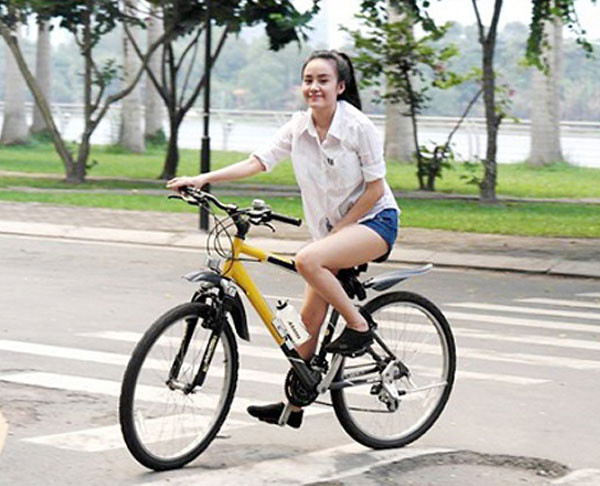 Đạp xe là phương pháp để tăng cường sức khỏe và giảm cân tốt nhất