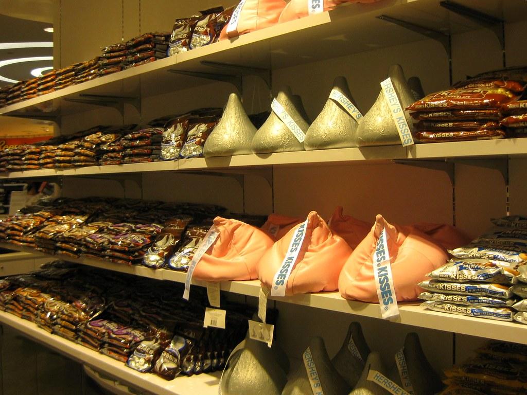 好時公司的巧克力商品。圖片來源:Rose Trinh(CC BY-NC-ND 2.0)