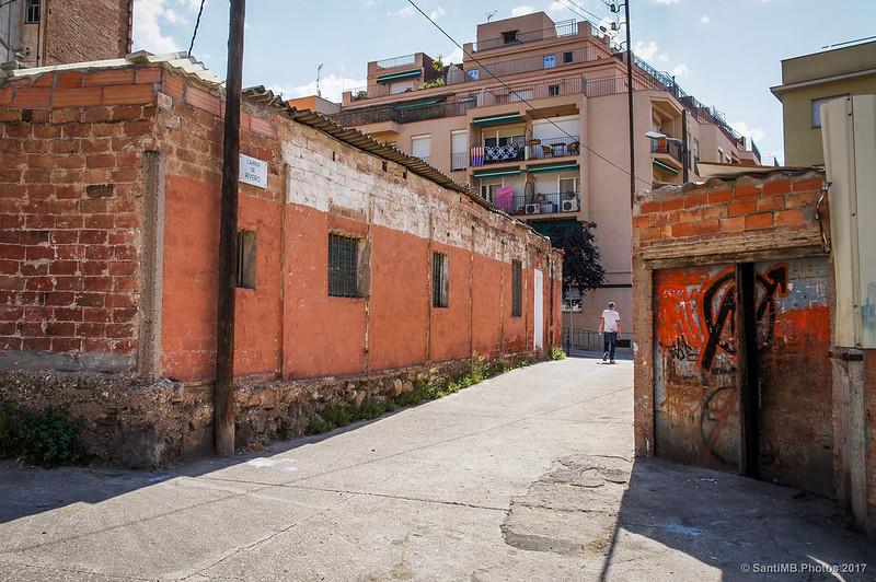 Entorno de la Torre del Moro en el barrio de Horta