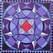 Mandala painting: Jewel in the Lotus