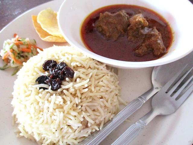 YS Cafe nasi Arab kari kambing 2
