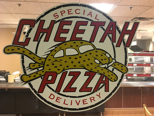 Cheetah Pizza Logo | by dmuth