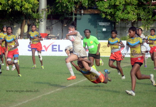 Women's Rugby Tackle | by Rangan Datta