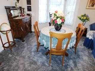 Tiger oak dining room set | by thornhill3
