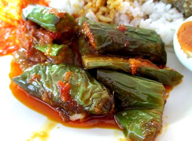 Sri Pelita Cafe sambal terung