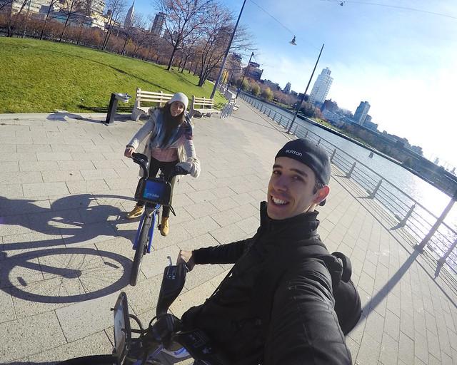 En bicicleta por las calles de Nueva York