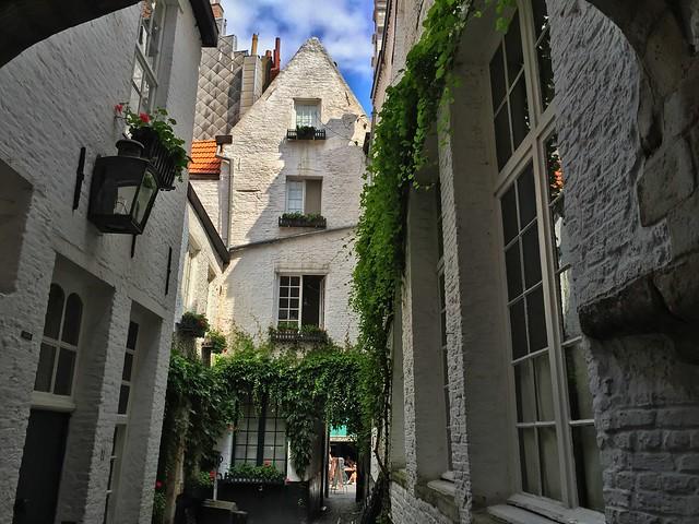 Postal de Amberes (Flandes, Bélgica)