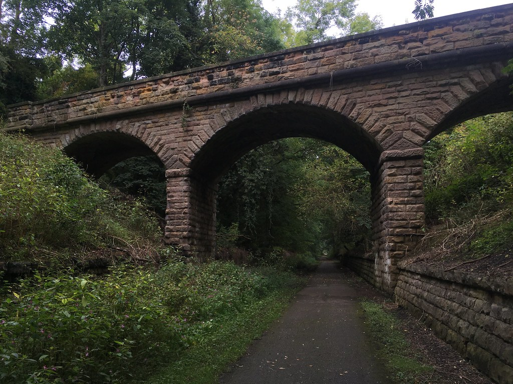 Disused railway arches