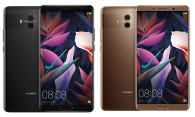 The new Huawei Mate 10 (64GB ROM + 4GB RAM) will be available in two colours, Mocha Brown and Black, for S$888 on 28 October in Singapore.