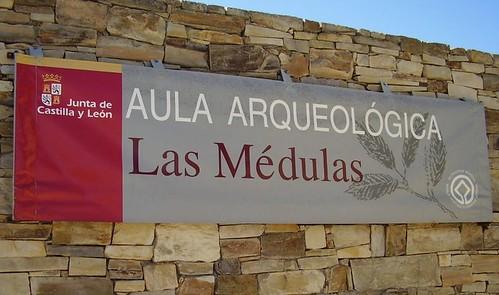 Aula arqueológica de Las Médulas