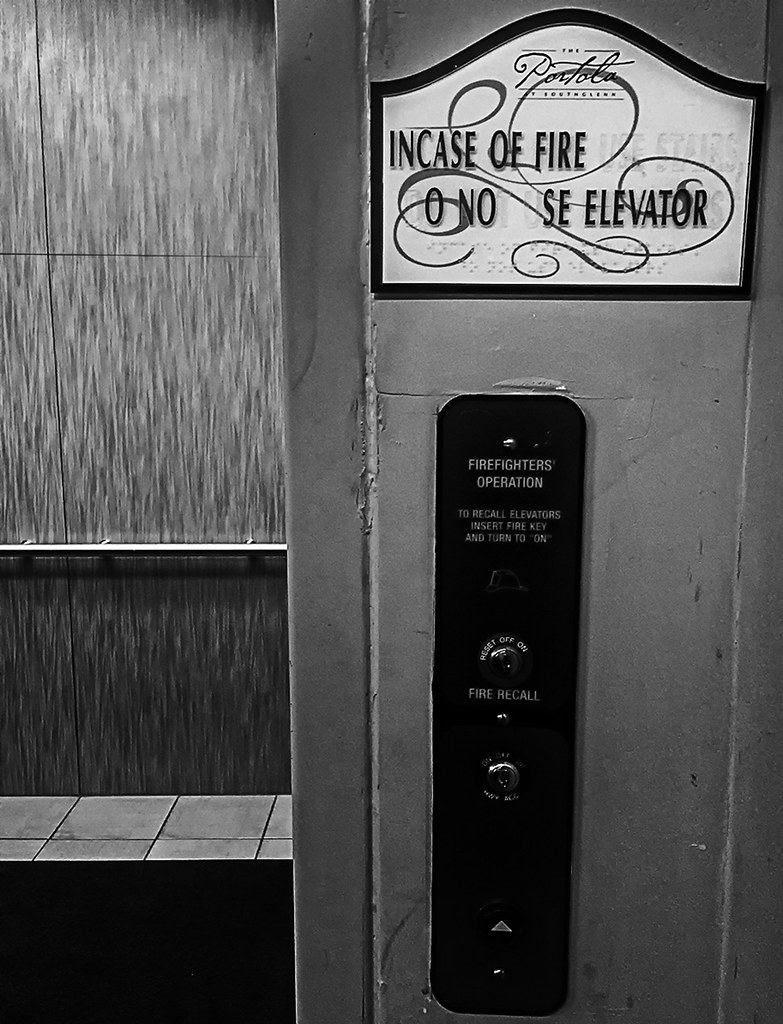 Elevator in my building