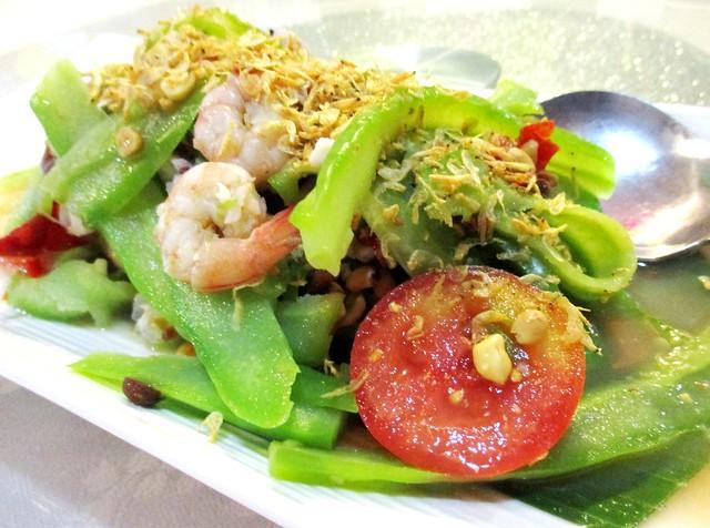 Flavours Thai Kitchen bitter gourd salad
