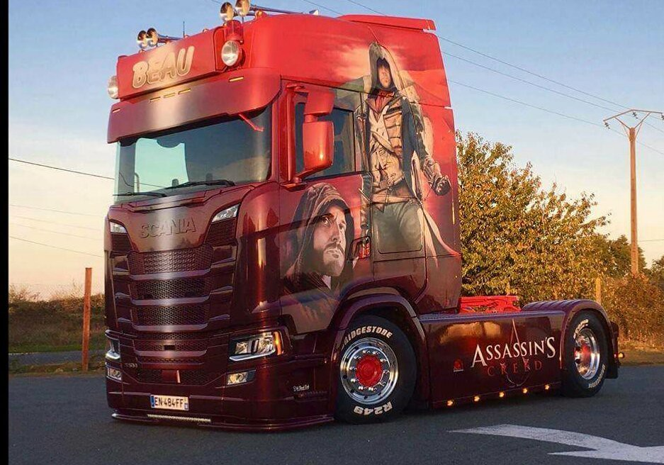 Transports Beau Scania S500 Assassins Creed Edition Flickr