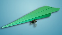Make a Quick Paper Airplane Glider That Flies Far (Easy Tu
